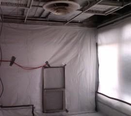 Asbestos Containment Area