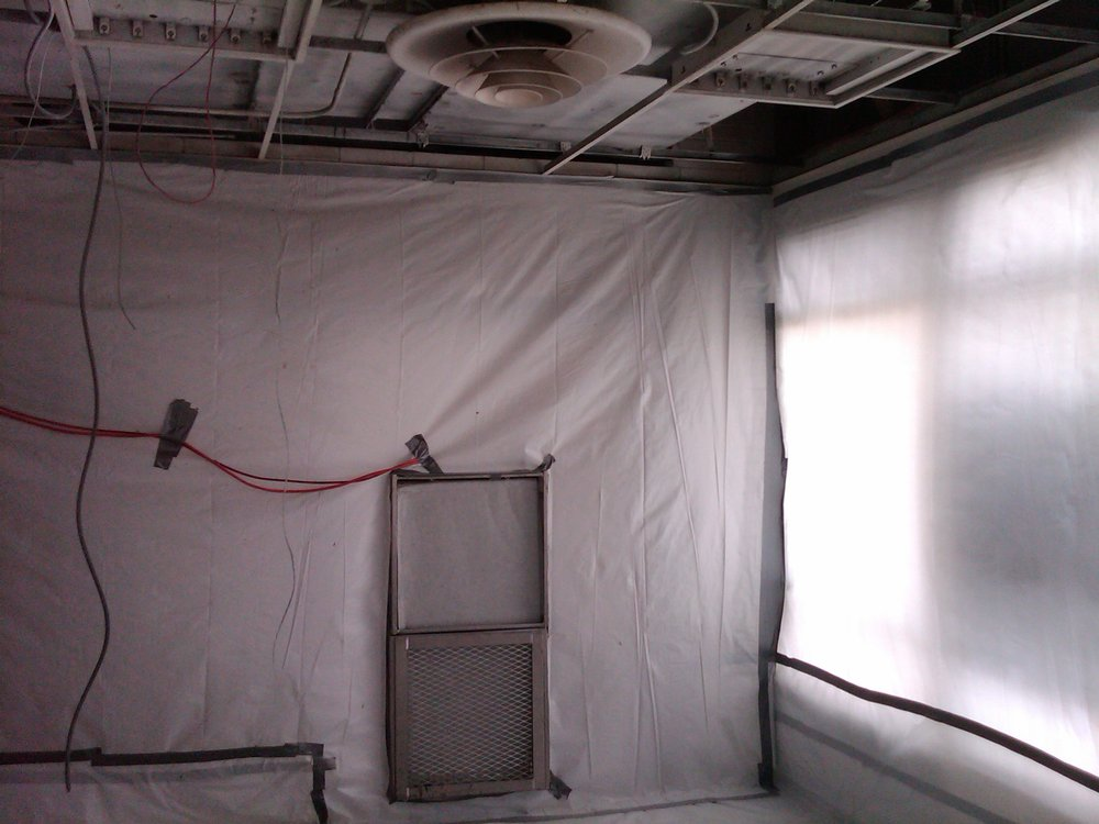 Asbestos Containment Area