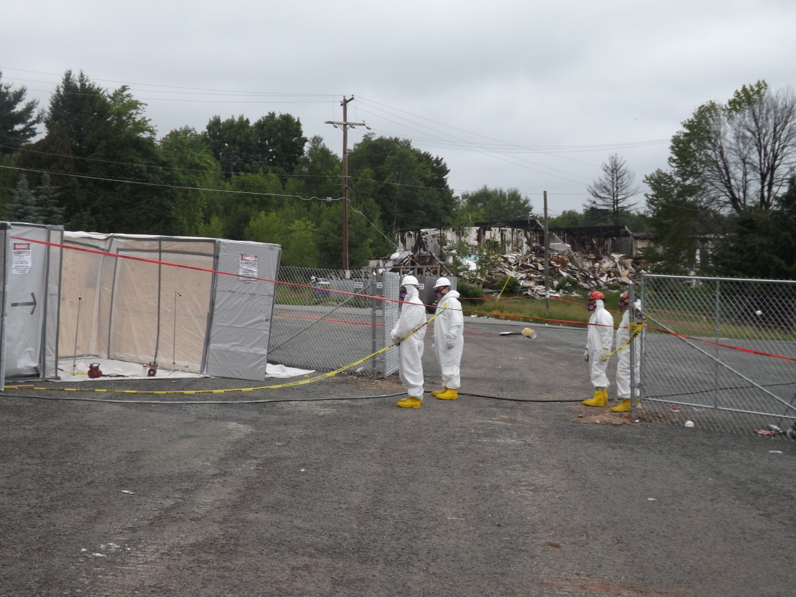 Asbestos Decontamination Area