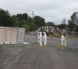 Asbestos Decontamination Area